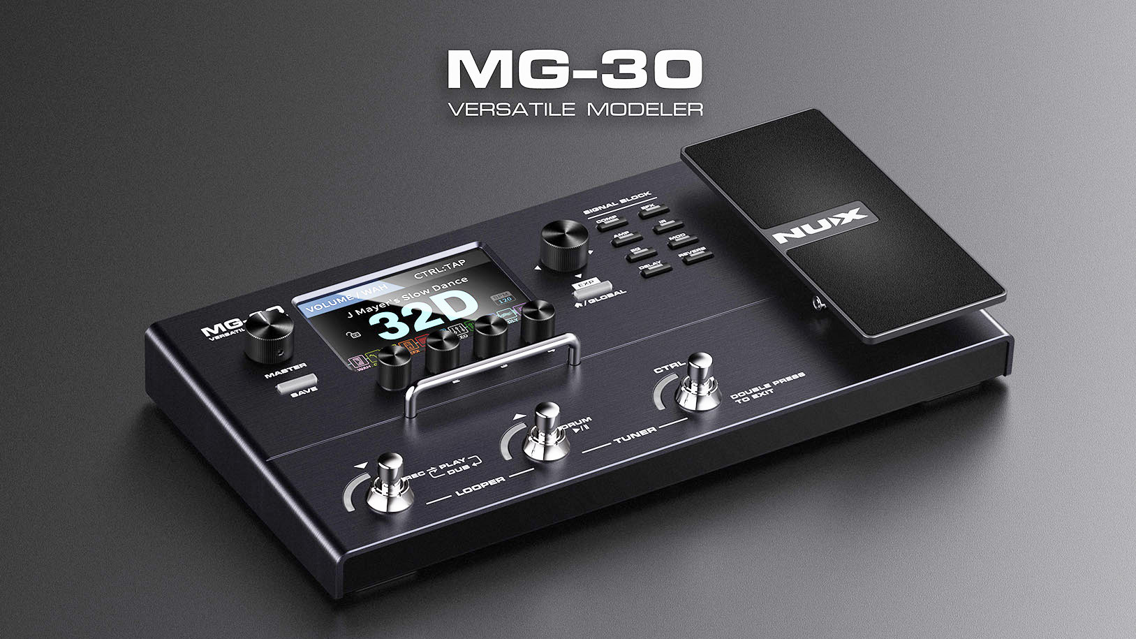 NUX MG-30 - This is simply amazing!
