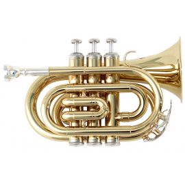 Trompeta de buzunar Si bemol - Soundsation STPGD-10P - Music and More