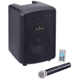 Soundsation HYPER PLAY 6AMW Bluetooth - Boxa Portabila Activa cu Microfon Wireless - Music and More