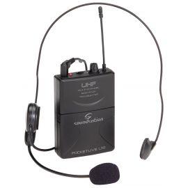 Soundsation POCKETLIVE U16P-KIT - Kit microfon headset cu transmitator - Music and More