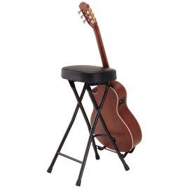 Soundsation GSGT-500 - Scaun cu stativ pentru chitara - Music and More