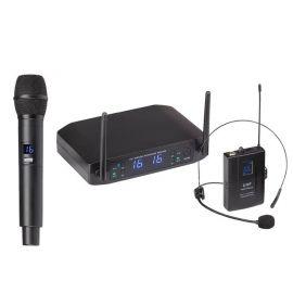 Soundsation WF-U216HH - Set 2 Microfoane Wireless