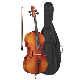 Soundsation Virtuoso OCE-44 - Violoncel 4/4 (întreg) cu Husa, Arcus Octogonal si Sacaz