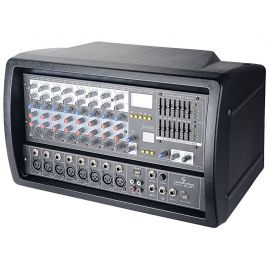 Soundsation PMX-8UBT - Mixer amplificat 2 x 300W (Bluetooth, MP3 player, 8 canale) - Music and More