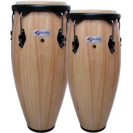 Soundsation SCO10-NT - Set Congas + Stative - Music and More